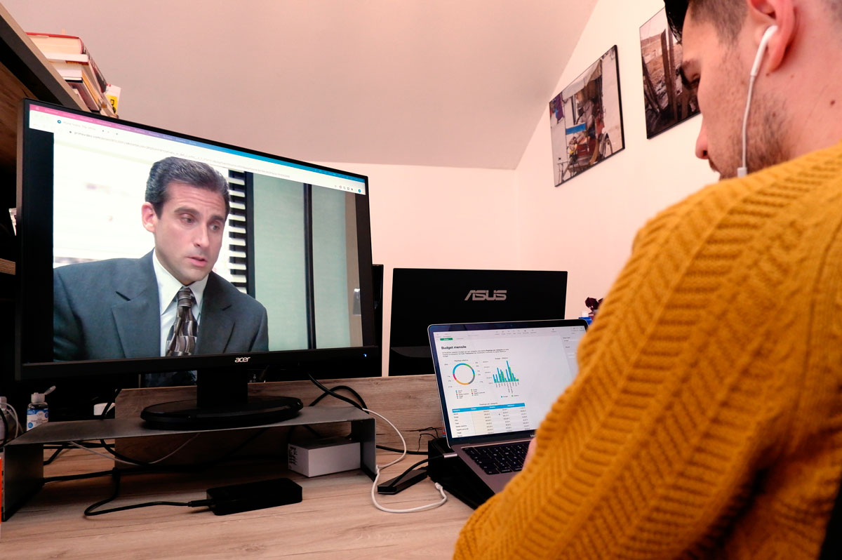 Prime Video The Office piattaforme streaming Wide Open Coworking Abruzzo